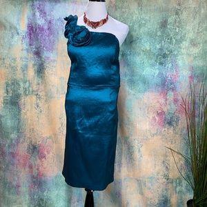 ⚜️Snap Elegant Emerald Green Prom-Formal Dress